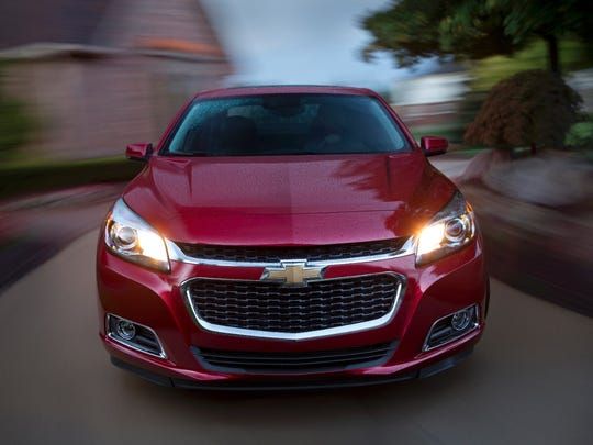 2015 Chevrolet Malibu is the best midsize car for initial quality, according to J.D. Power.