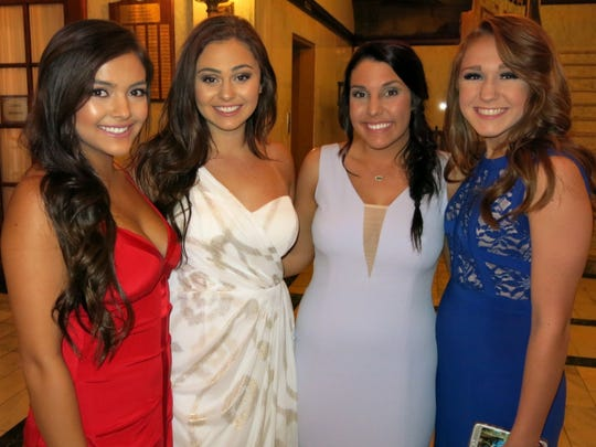 Natalie Thompson, Sophia Rome, Victoria Thompson, Megan
