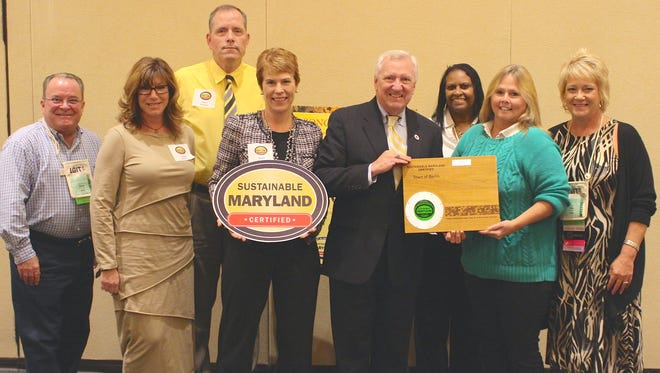 Berlin recently received the Sustainable Maryland Certified Award.