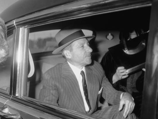 Frank Costello, released from the Federal Correctional