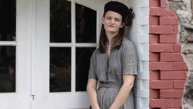 Teen interpreter Kira Kinney is Hannah Martin this summer at Willamette Heritage Center. Martin was the first woman elected to the Oregon State Legislature.
