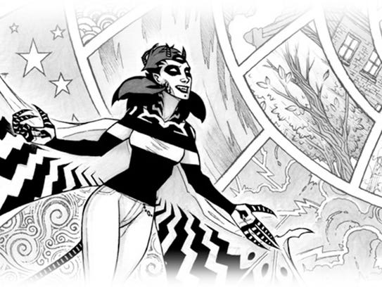 Zebra Girl is a 17-year webcomic written and drawn