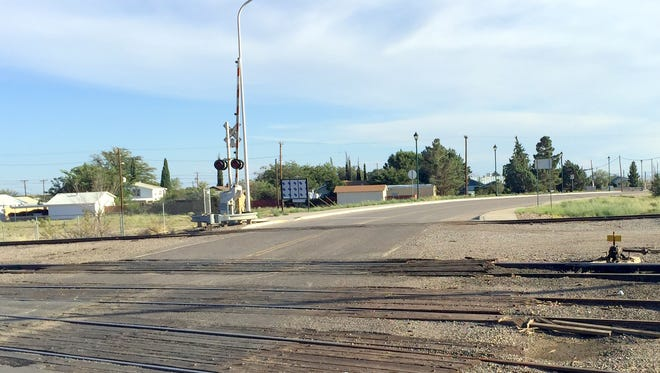 The railroad crossing on Diaz Avenue in Hurley will get a $1.3 million overhaul.