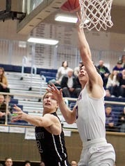 North Kitsap's Zac Olmsted finished with 24 points
