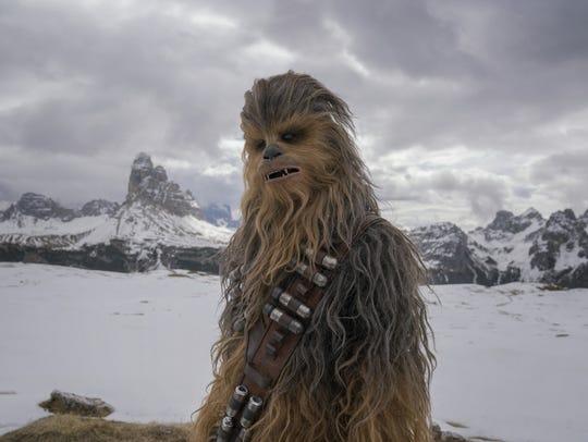 Chewbacca (Joonas Suotamo) isn't the only Wookiee who