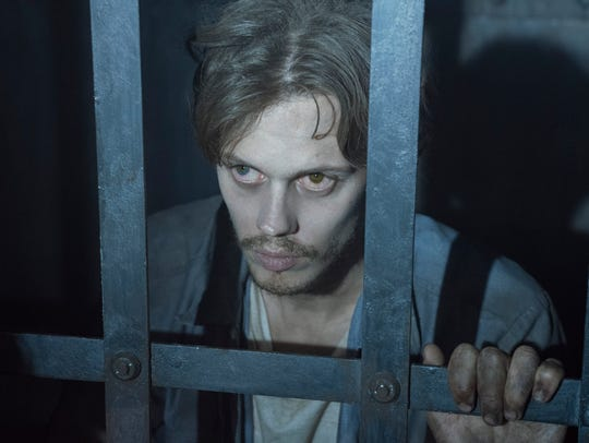 Bill Skarsgård stars as a mysterious young man found