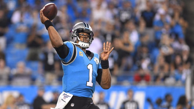 New Patriots quarterback Cam Newton has been active on social media since news broke he signed with New England.