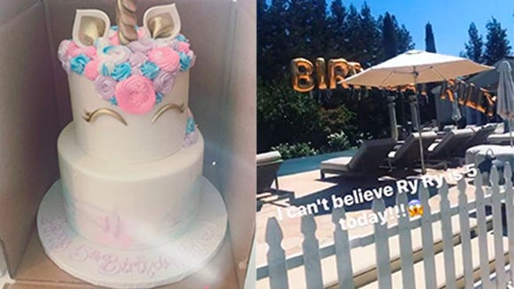 Steph and Ayesha Curry are celebrating Riley's 5th birthday with lots of unicorns