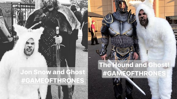 Snaps of the week: Bryce Harper goes full 'Game of Thrones,' LeBron and D-Wade 'cheers'
