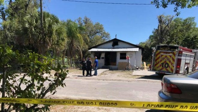 A suspicious fire killed three children at an Arcadia home Saturday morning.