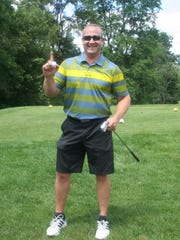 Jeff Meadors of Howell made his first hole-in-one in