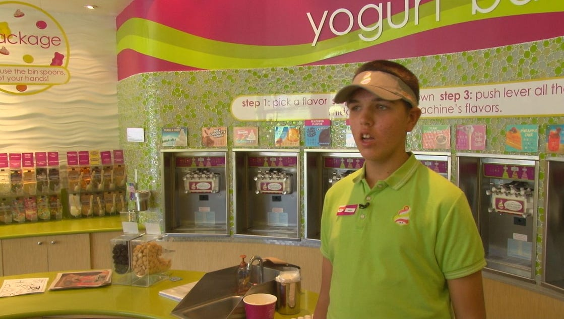Frozen yogurt shop given to open doors tennessee for 18 8 salon franchise