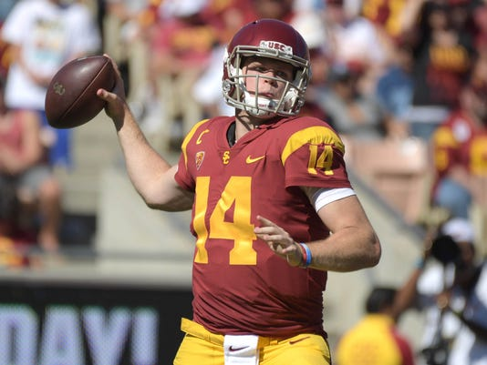 NCAA Football: Oregon State at Southern California