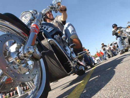 You're sure to see plenty of nice bikes like this Screaming Eagle V-Rod at Gettysburg's Bike Week.