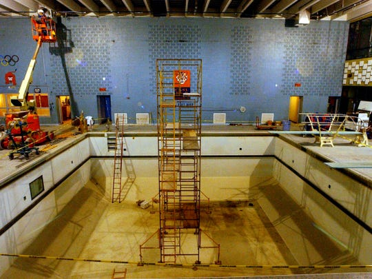 Improvements to the swimming pool were made in 2004
