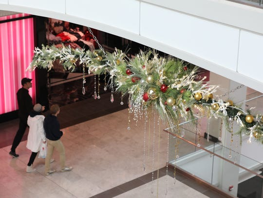 Festive swag is pictured at The Westchester in White