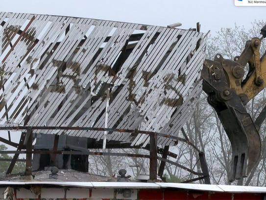 The Circus Drive-In on Route 35 in Wall Township is