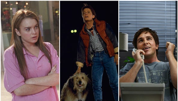 'Mean Girls,' 'Back to the Future,' and 'The Big Short'