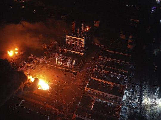 China Chemical Plant Blast (3)
