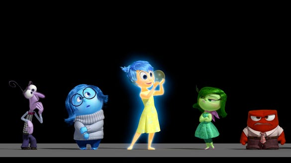 "Disney•Pixar's animated motion picture ""Inside Out"""