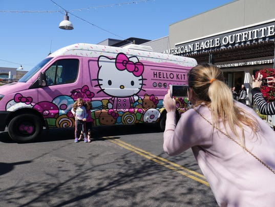 Hello Kitty Cafe Truck in Gilbert Feb. 24, 2018
