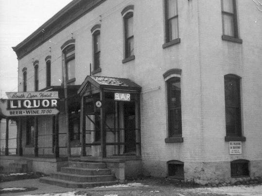 South Lyon Hotel in 1965.