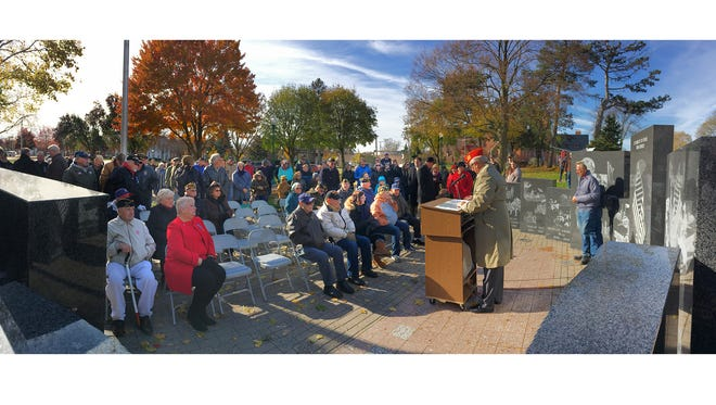 Plymouth hosts its annual Veterans Day ceremony Sunday, Nov. 11, at 11 a.m.