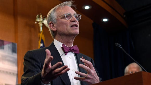 In this March 3, 2017, file photo, Rep. Earl Blumenauer,