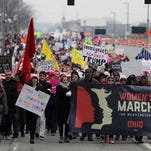 Hundreds from Tristate head to DC women's march