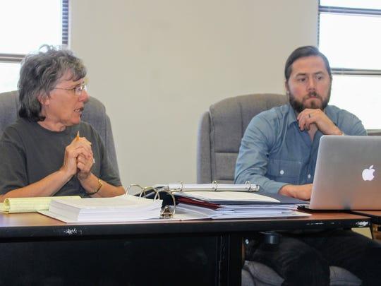 Public Land Use Advisory Committee (PLUAC) members