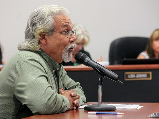 Rick Merrick with South Central Mountain RC&D asked for County Commissioner's support on signing the Southern Sacramento Mountain Watershed and Forest Restoration Strategy Thursday, July 13.