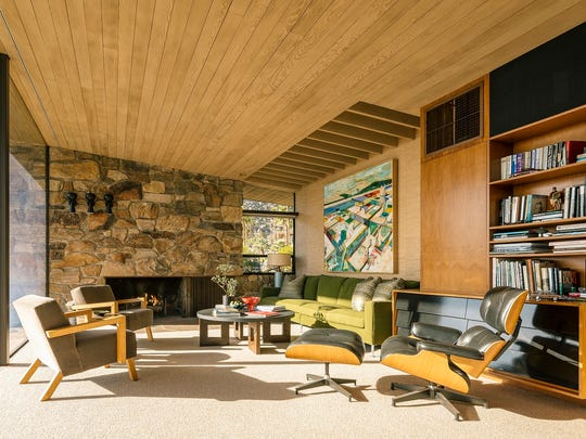 Edris House, a mid-century home in Palm Springs designed by E. Stewart Williams, sold for $3 million.
