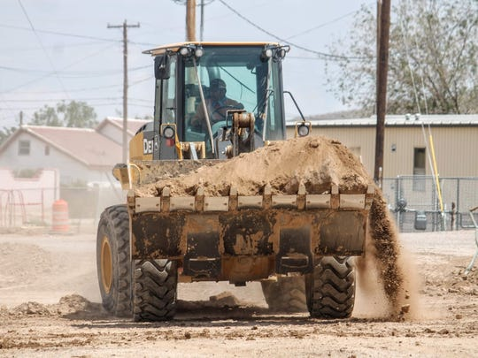 According to Alamogordo Public Schools, hours of operation will be Monday through Thursday, each week, from 6 a.m. to 4:30 p.m. The public can expect noise from heavy equipment and dust from earthwork.