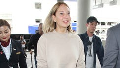 Sia at LAX on March 22, 2017.