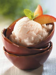 Sweet and Tangy Summer Sorbet