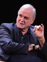 "John Cleese is best known for his work in legendary comedies like ""Monty Python and the Holy Grail,"" ""Life of Brian,"" ""A Fish Called Wanda,"" and ""Fawlty Towers."""