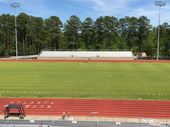 The new home of the Atlanta Rabbits football and track teams was built in the 1990s.