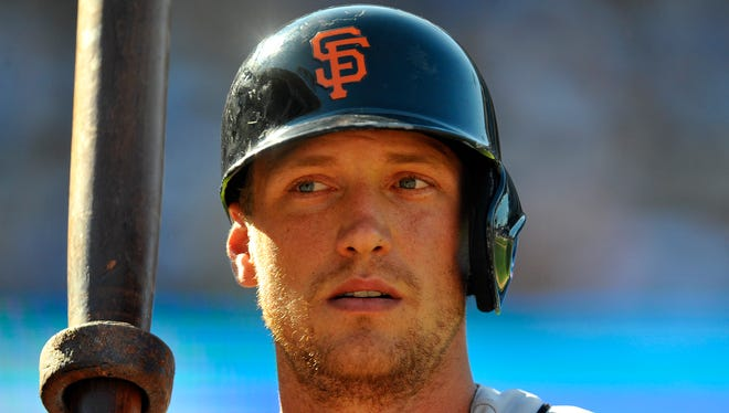 The Giants traded for Hunter Pence at the trade deadline in 2012.