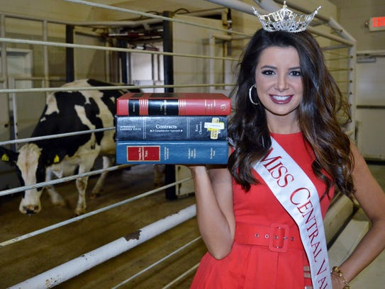 Alexandra Macedo of Tulare was crowned Miss Central