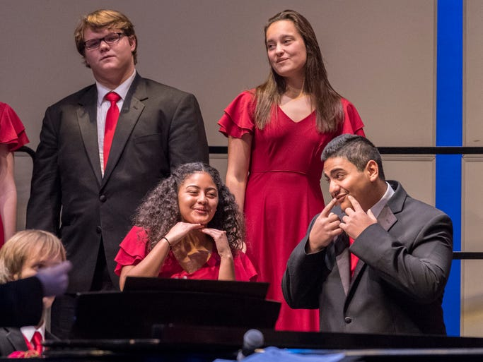 Mt. Whitney High School Chamber Singers perform Wednesday,