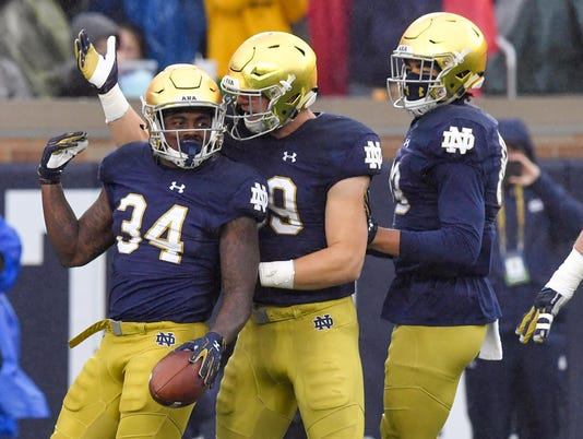 NCAA Football: Wake Forest at Notre Dame