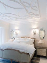 "Guest bedroom in ""The Bellamont."""