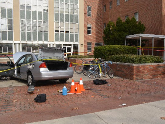 The car used in a 2016 attack at Ohio State University