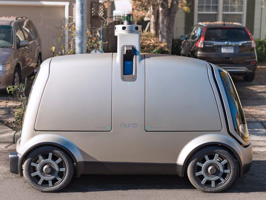 The Nuro R1 self-driving (and driverless) electric