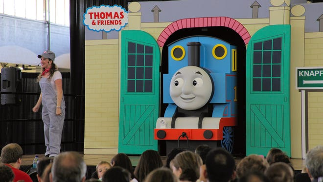 Thomas the Tank Engine and friends will take part in two 20-minute shows at the annual Family Fun Expo on Sunday, May 29, at Germain Arena.