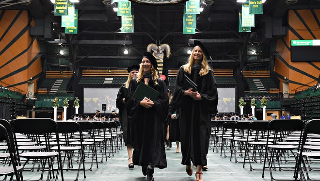 About 130 graduates received doctorates from the College of Veterinary Medicine and Biomedical Sciences in 2016. Fort Collins ranks among cities with the highest percent of residents with advanced degrees.