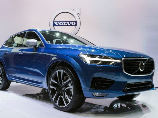 10. Volvo XC60 four-door 2WD