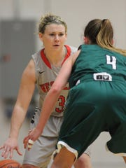 Kelsey Callaghan during her playing days at Montana Western.