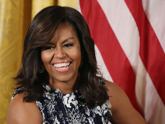 Former First lady Michelle Obama is scheduled to be