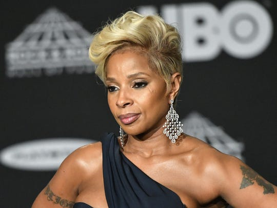 CLEVELAND, OH - APRIL 14:  Recording artist Mary J Blige attends the 33rd Annual Rock & Roll Hall of Fame Induction Ceremony at Public Auditorium on April 14, 2018 in Cleveland, Ohio.  (Photo by Mike Coppola/Getty Images For The Rock and Roll Hall of Fame)